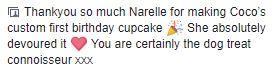 Danielle - Cocos cake